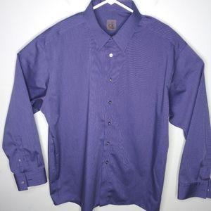 CK Calvin Klein Long Sleeve Dress Shirt
